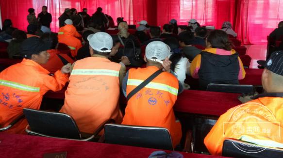 长白山池北区社会事务局开展全区公益性岗位人员审核工作