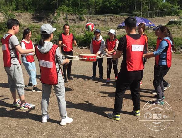 长白山开发建设集团举办2017户外拓展训练